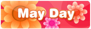 May Day is here! Time for may pole plays and dance, fresh may blooms and gifting may basket.