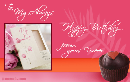 Birthday Quotes Love. happy irthday quotes for love
