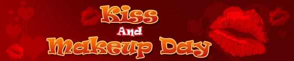 Kiss And Makeup Day Cards | Kiss And Makeup Day Ecards | Kiss And Makeup Day Greeting Cards
